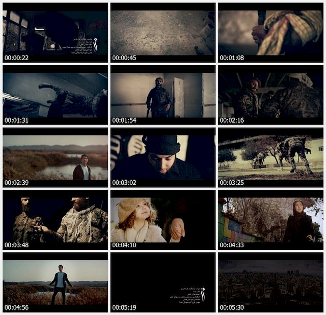 دانلود موزیک ویدئو جدید فرزاد فرزین به نام مرز