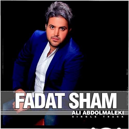 دانلود آهنگ جدید علی عبدالمالکی به نام فدات شم