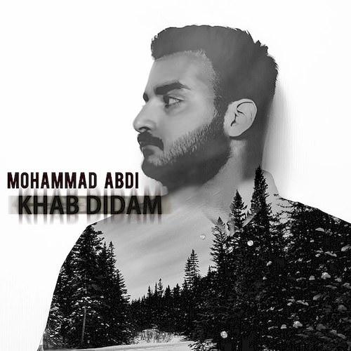 دانلود آهنگ جدید محمد عبدی به نام خواب دیدم