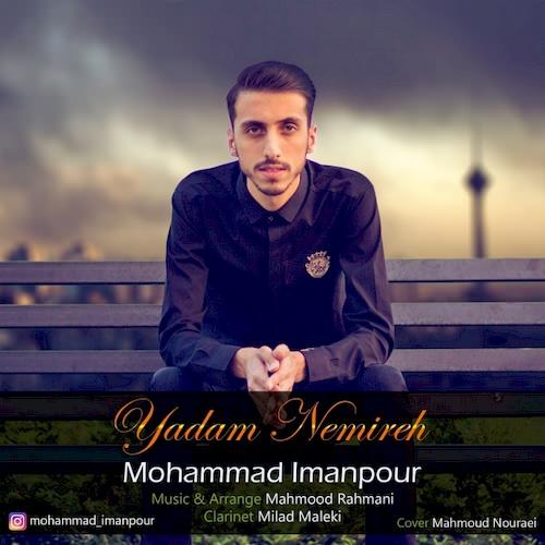 دانلود آهنگ جدید محمد ایمانپور به نام یادم نمیره