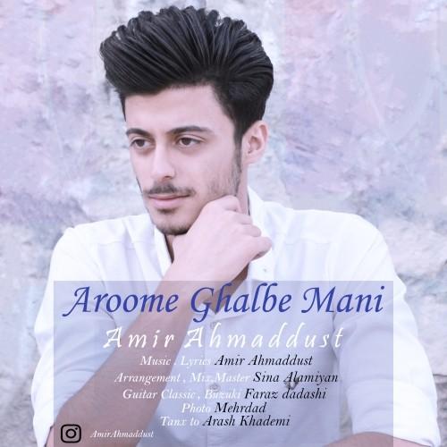 دانلود آهنگ جدید امیر احمد دوست به نام آروم قلب منی