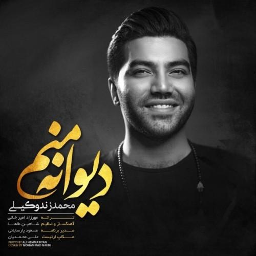 دانلود آهنگ جدید محمد زندوکیلی به نام دیوانه منم