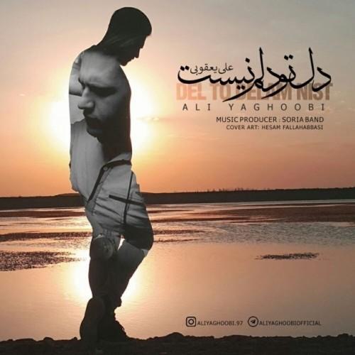 دانلود آهنگ جدید علی یعقوبی به نام دل تو دلم نیست
