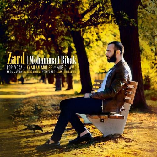 دانلود آهنگ جدید محمد بیباک به نام زرد