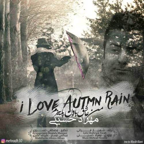 دانلود آهنگ جدید مهراد حسینی به نام من عاشق بارون پاییزم