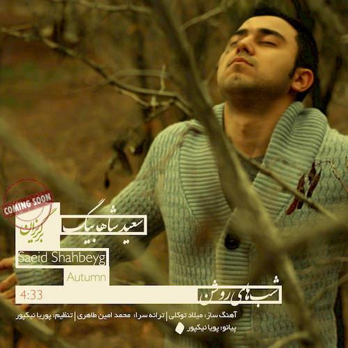 دانلود آهنگ جدید سعید شاه بیگ به نام شب های روشن