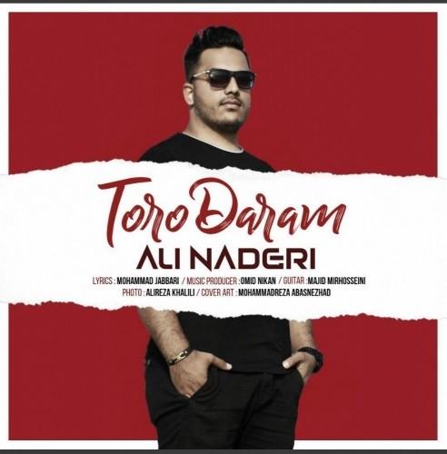 دانلود آهنگ جدید علی نادری به نام تورو دارم