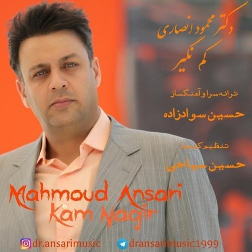 دانلود آهنگ جدید دکتر محمود انصاری به نام کم نگیر