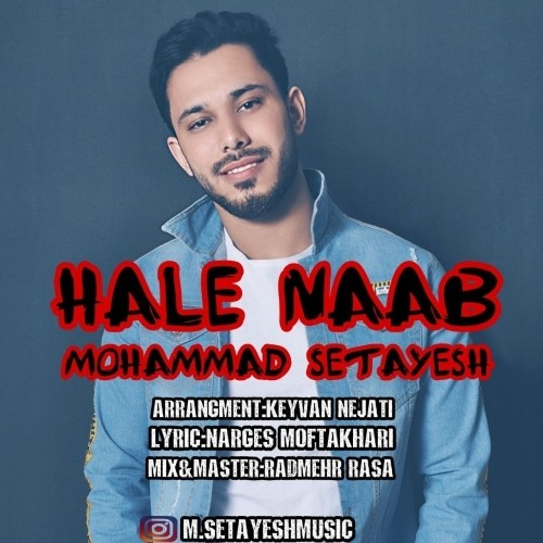 دانلود آهنگ جدید محمد ستایش به نام حال ناب