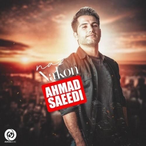 دانلود آهنگ جدید احمد سعیدی به نام ناز نکن