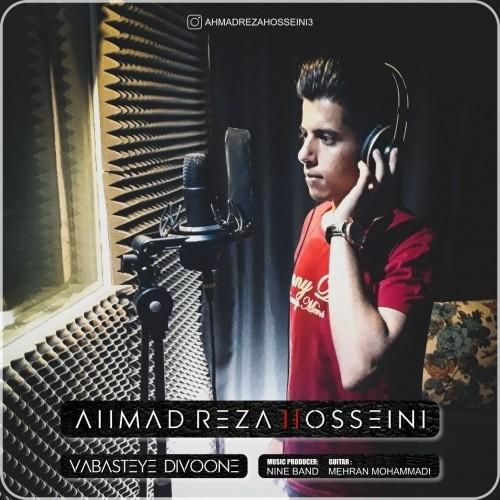 دانلود آهنگ جدید احمد رضا حسینی به نام وابسته دیوونه
