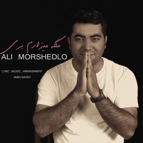 دانلود آهنگ جدید علی مرشدلو به نام مگه میزارم بری