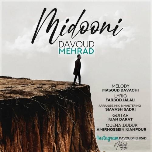 دانلود آهنگ جدید داود مهراد به نام میدونی