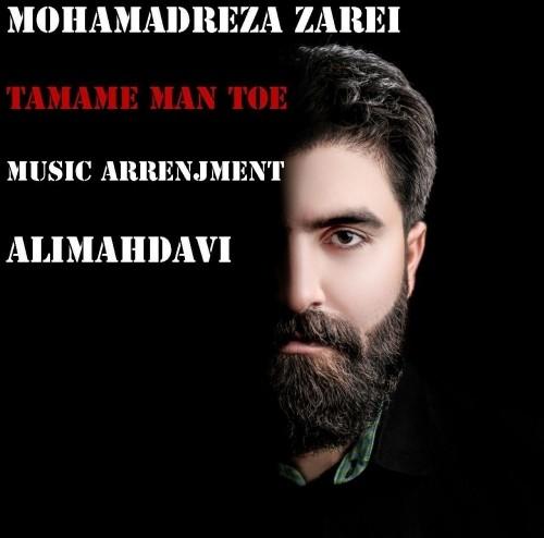دانلود آهنگ جدید محمدرضا زارعی به نام تمام من تویی