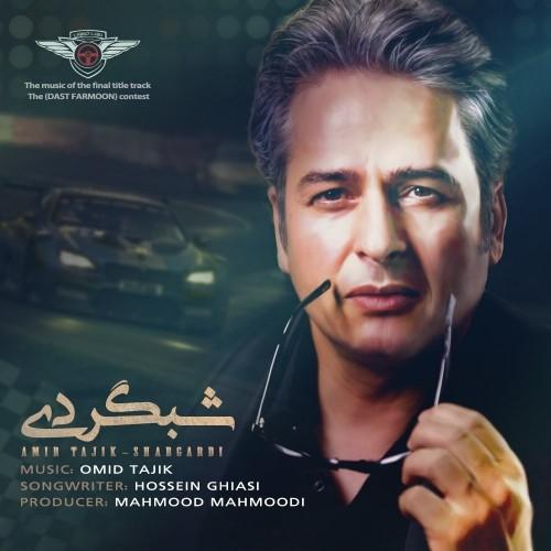 دانلود آهنگ جدید امیر تاجیک به نام شبگردی