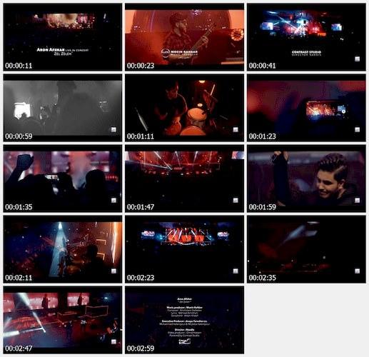 دانلود موزیک ویدیو آرون افشار - زلزله (اجرای زنده)