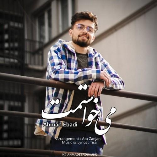 دانلود آهنگ جدید احمد عبادی به نام میخواستمت