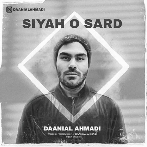 دانلود آهنگ جدید دانیال احمدی به نام سیاه و سرد