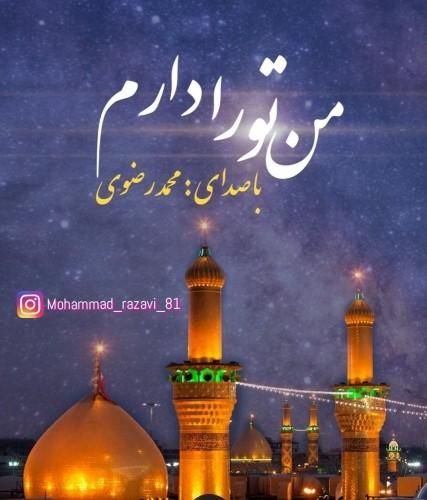 دانلود آهنگ جدید محمد رضوی به نام من تو را دارم